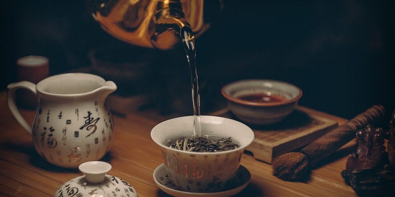 thé, cérémonial, ceremonial