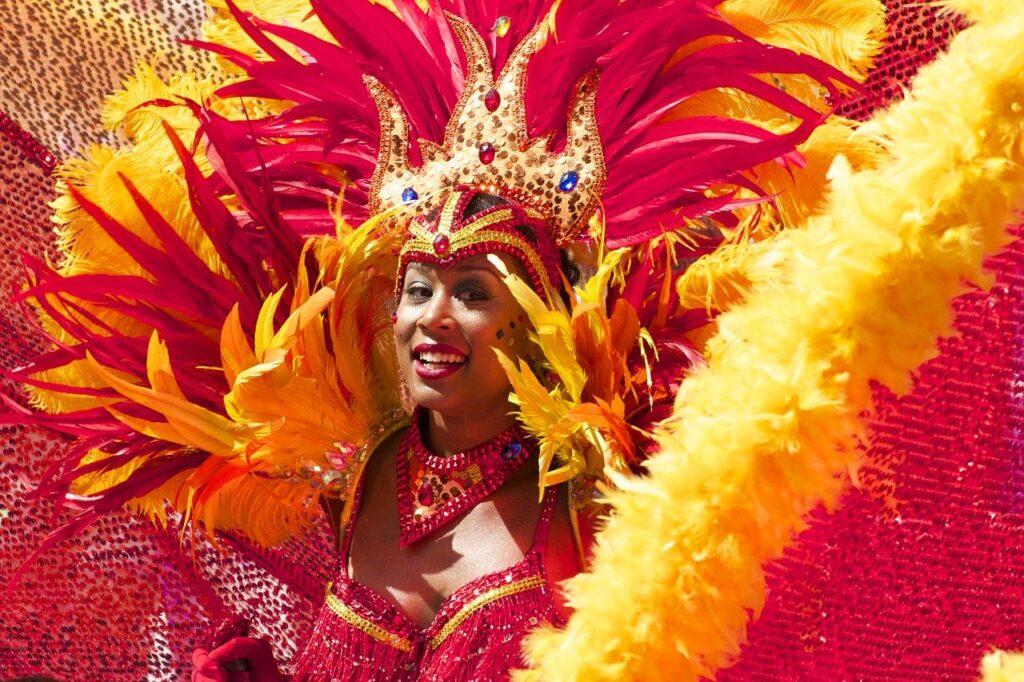 o carnaval, carnaval, carnival, woman, costume