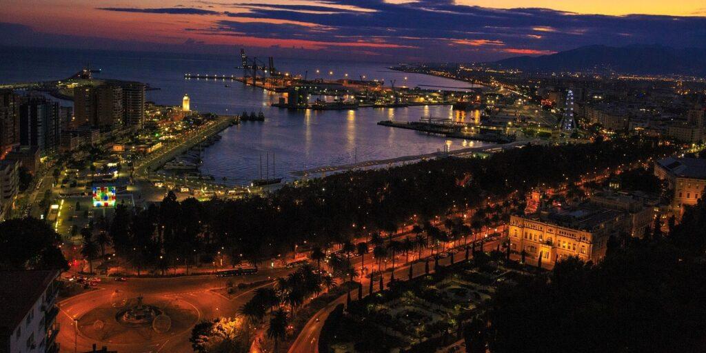 Malaga, spain, costa de la luz