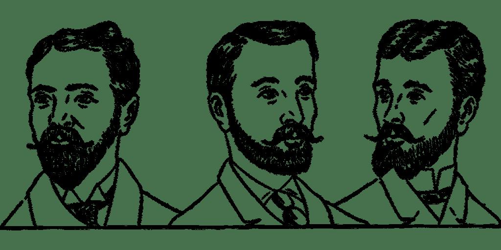 histoire des cheveux, barbati, cabello, istoria părului