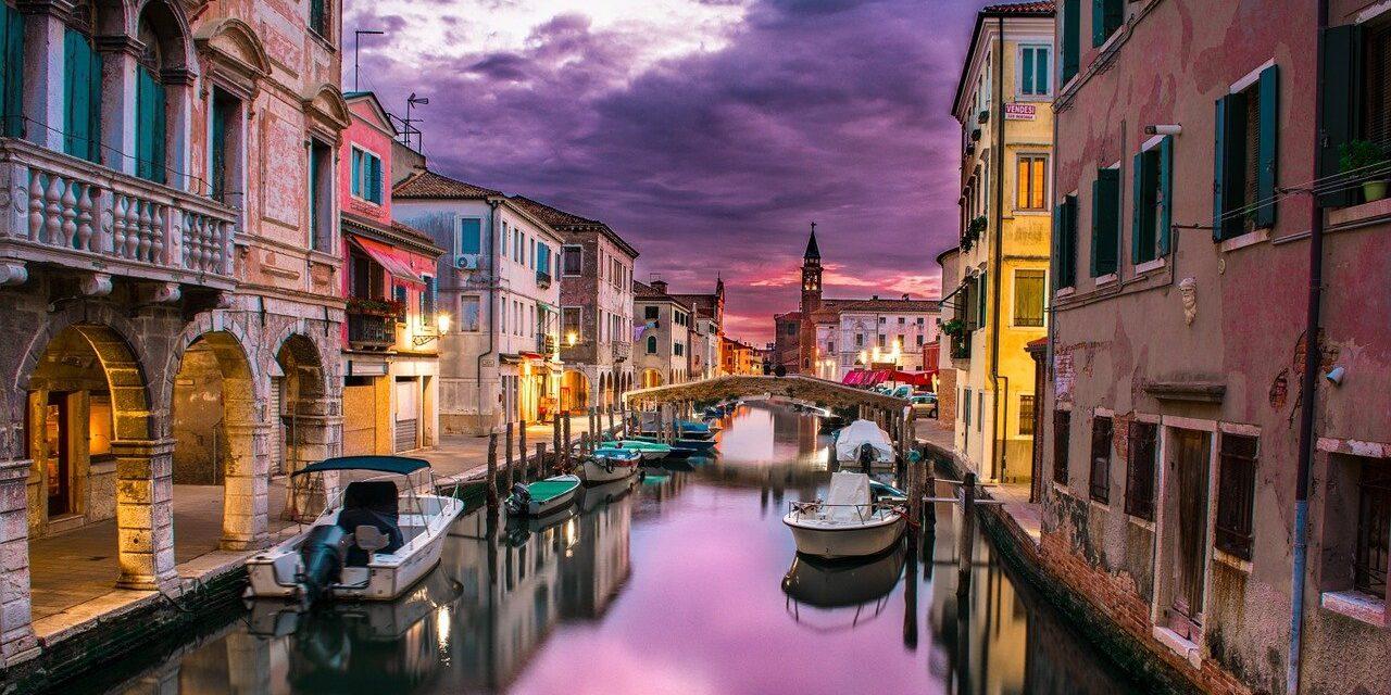 canal, venice, italy, Venezia