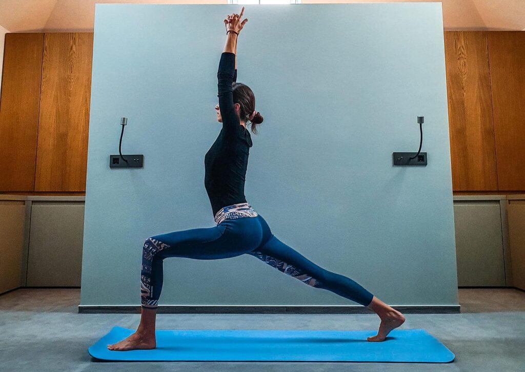 Flavia Turcu, yoga