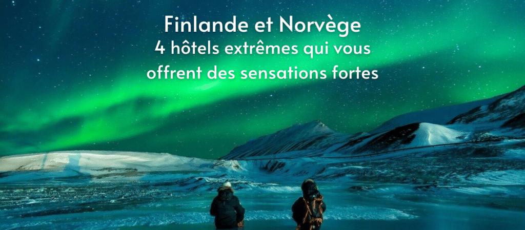 Finlande,hôtel, l'aurore boréale