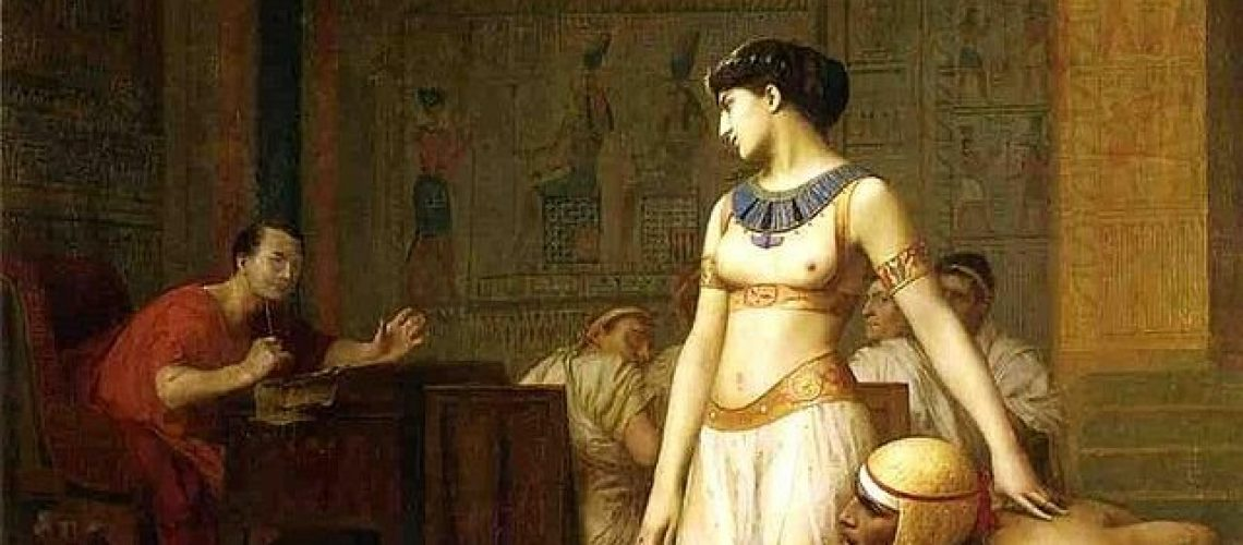 Cléopâtre , Cleópatra, Cleopatra și Cezar