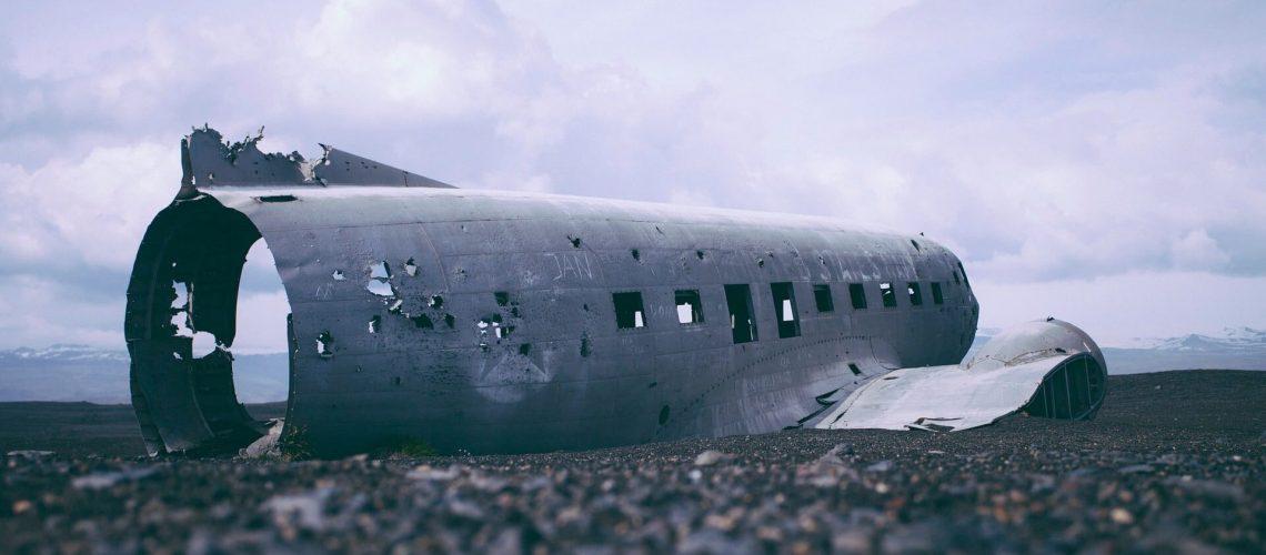 acidente aéreo