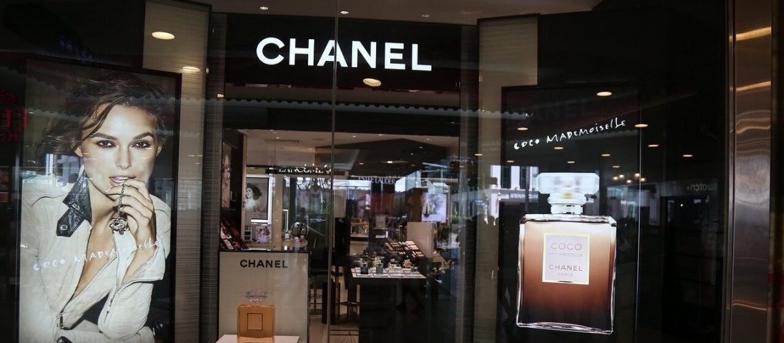 coco chanel, store front, marketing