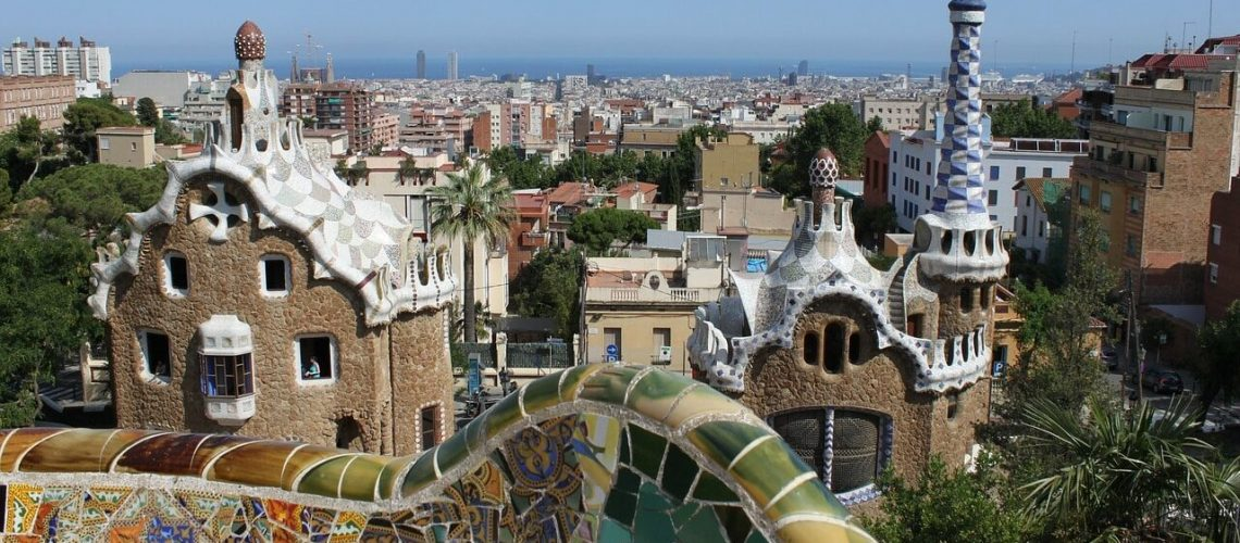 Barcelona, parc guell, gaudí, barcelona