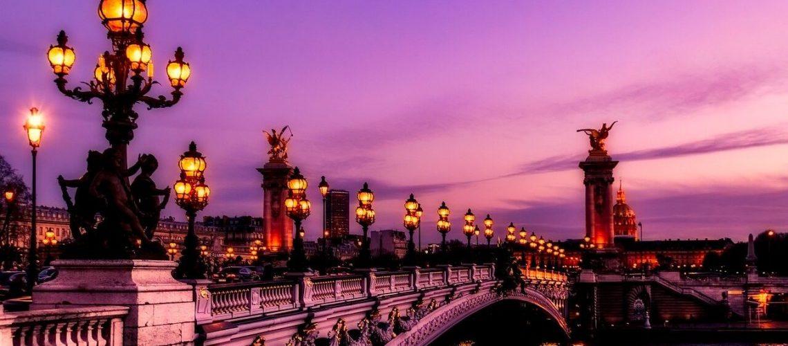 Paris, france, bridge